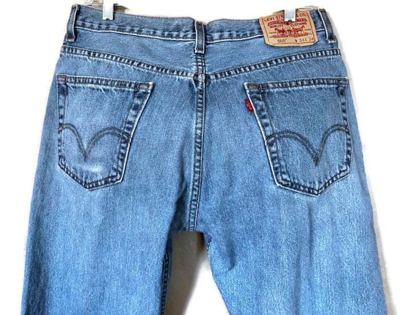 59c85d918aa Vintage 505 W34 L34 Men's Regular Fit Levi's 100% | Etsy