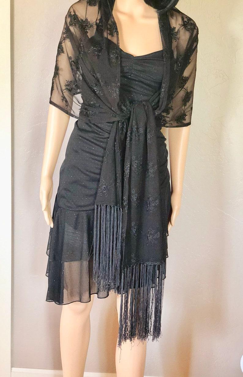 4e8fa27c205 Vintage Women s My MIchelle Size Small Dressy Black