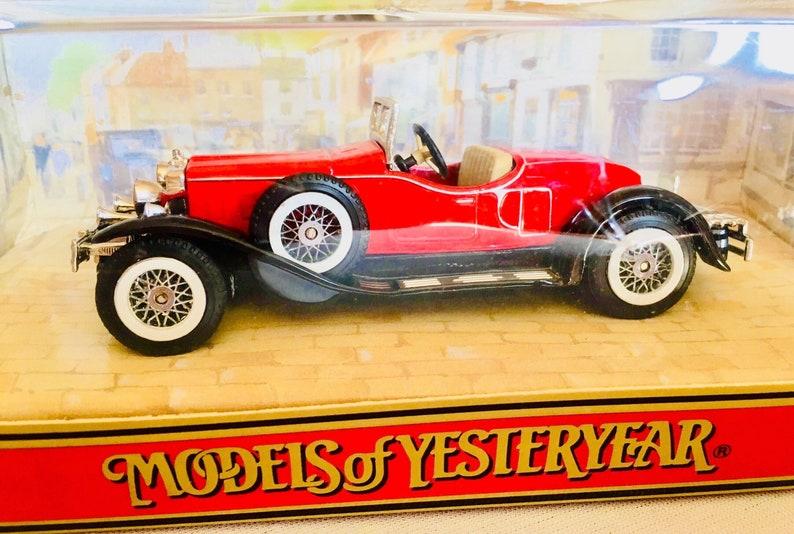 Nutz- & Transportfahrzeuge Antikspielzeug Stutz Bearcat 1931 Matchbox Made In England By Lesney Nr 11