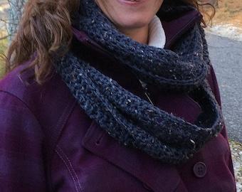 Crochet Infinity Scarf-Winter Scarf