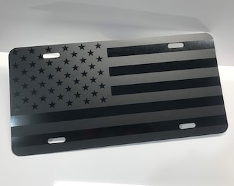 ALAND ISLANDS FLAG WHITE Heavy Duty Steel License Plate Frame Tag Holder