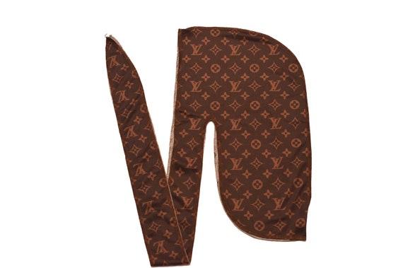 Louis Vuitton Inspired Designer Durag Lv Brown Etsy