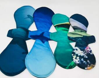 """14"""" / 18"""" Heavy pique cloth pad with Zorb and PUL"""