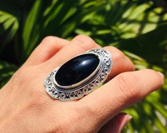 493a198bc Black Onyx Ring