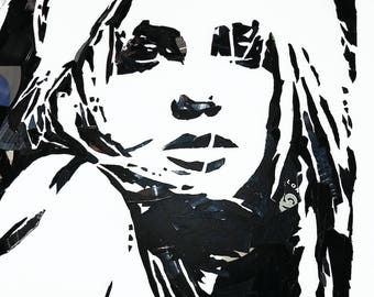 Britney Spears - Broken Vinyl Print