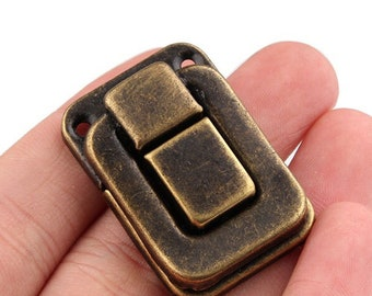 PK 10 Toggle Catch Latch Chest Suit Case Brass Plated
