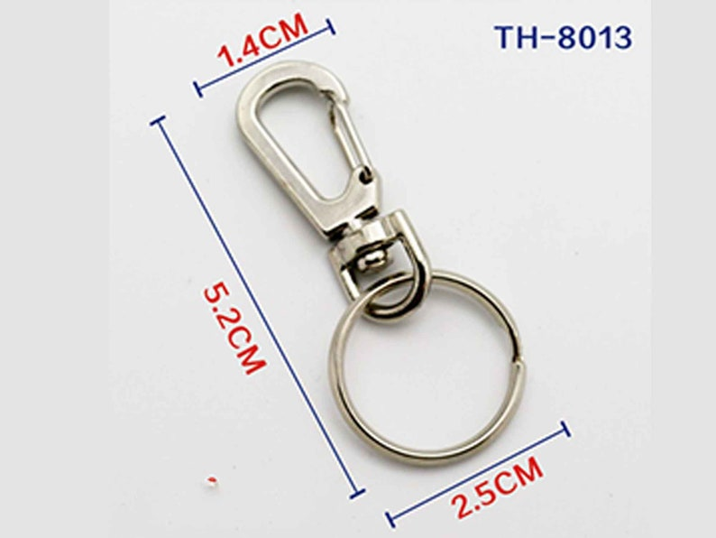 Accessories Heart-shaped Buckles Keyring Hook Keychain Clip Aluminum Carabiner