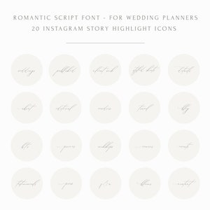 Wedding Planning Icons IG Cover Stories Wedding Instagram Story Highlight Icon Covers Marriage Insta Social Media Kit Templates Lifestyle