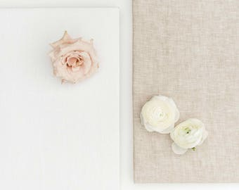"""Double Sided Linen Styling Surface / Styling Board / Fine Art Surface Styling (20"""" x 16"""")"""