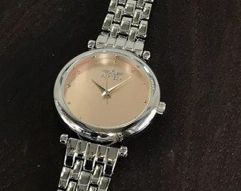 c7aa1271d92 Softech London Ladies Silver Chrome Every Day Bracelet Wrist Watch