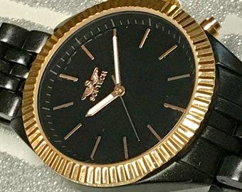 87ecd66196b Softech London Men s Wrist Watches Blue Dial Grey Chrome