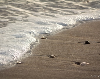 Tide on the Beach, Topsail Island NC