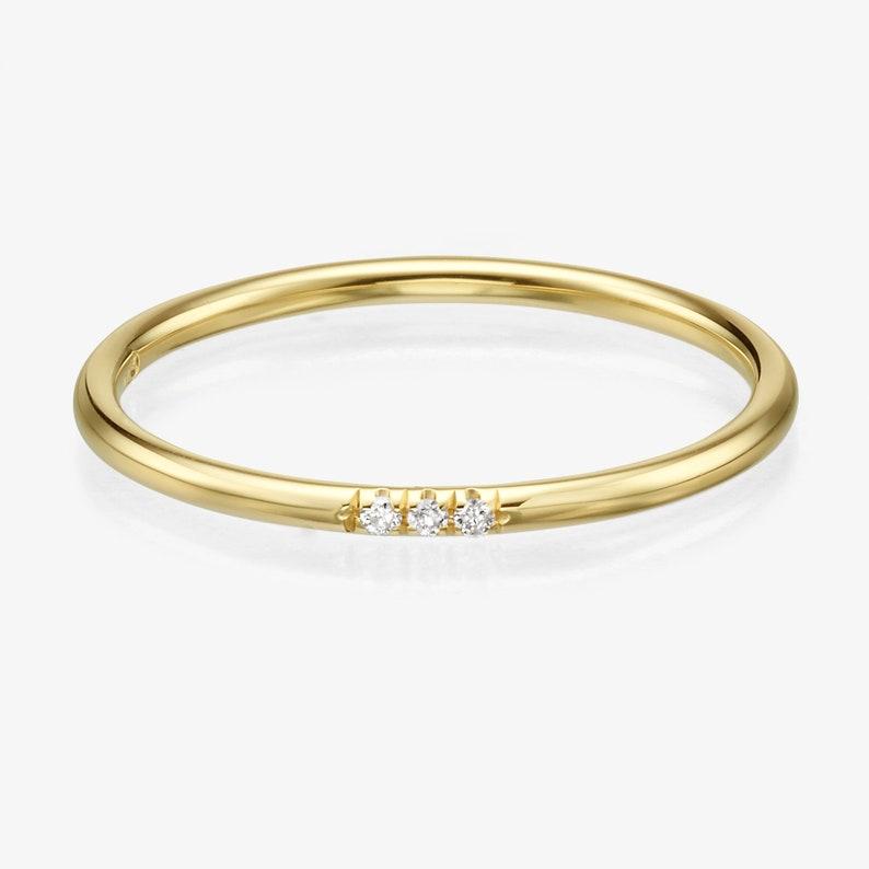 2f1e39fa4f6 14k Yellow Gold Diamond Band 14k Yellow Gold Diamond Ring
