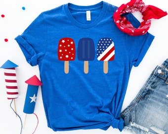Kids 4th of July Shirts Youth Graphic Tees Set it Off Firework T-Shirt