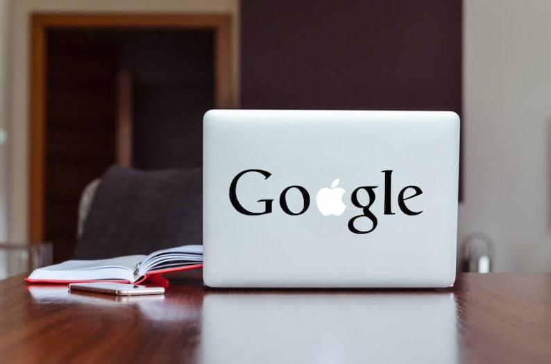 Google MacBook sticker. MacBook Air 11MacBook  Pro 13MacBook image 0