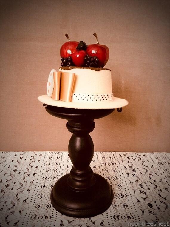Obst Kuchen Hut Pudding Etsy