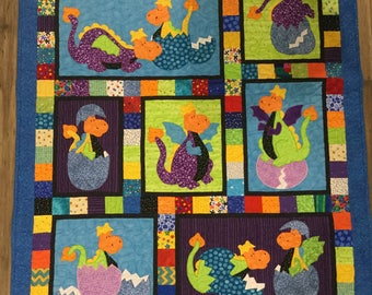 Dragon Baby Quilt