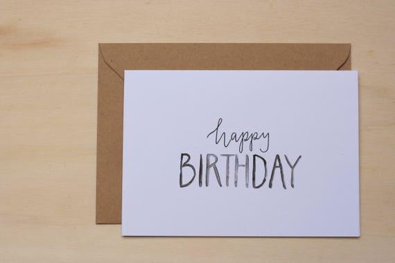 Geburtstagskarte I Love Messer Herstellung Grußkarte
