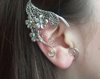 Elven ears (a pair).ORIGINAL. Earcuffs, Elf ears, cosplay fantasy decoration for ears  elven ear  ear cuff  elvish earring elf ear