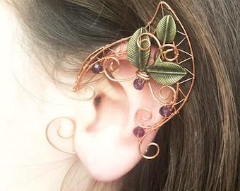 Elf ears | Ear cuffs | Elven ears | cosplay ears | ear cuff | ear cuff no piercing | ear cuff gold | cuff earrings | earring cuff