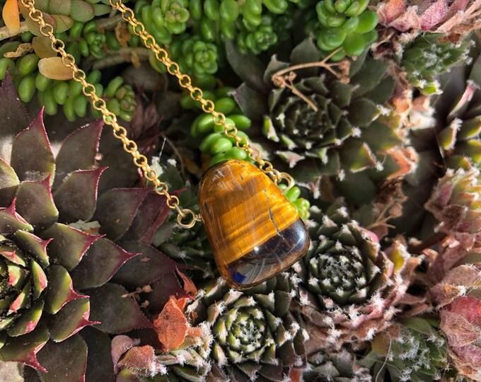 Featured listing image: Mushroom Cap Necklace