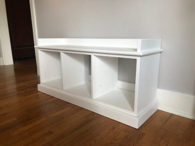 Superb Mudroom Entryway Wood Bench Available In Various Colors Painted Or Stained Free Shipping Caraccident5 Cool Chair Designs And Ideas Caraccident5Info