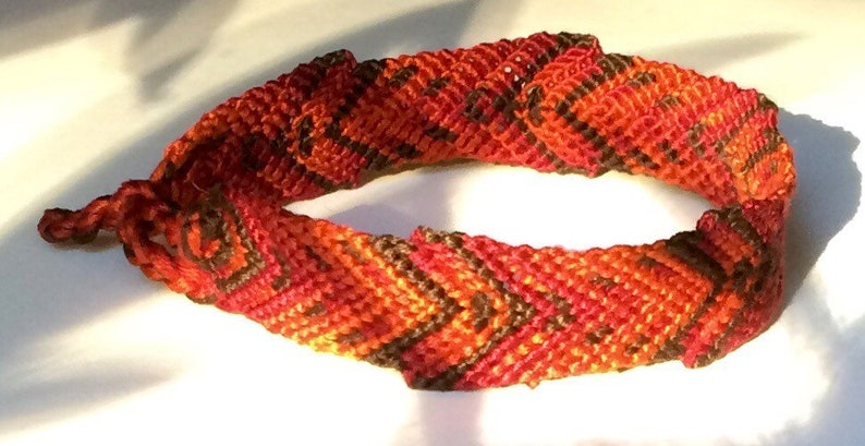 Romance Handwoven Hearts Bracelet