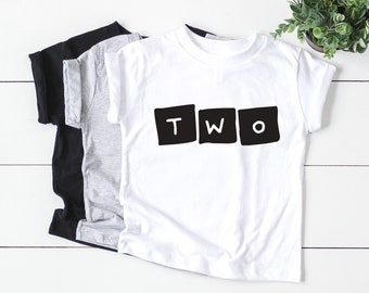 72840052a1b7c Two Shirt / 2nd Birthday Boy / 2nd Birthday Outfit / 2nd Birthday Shirt / 2  Birthday Boy / 2nd Birthday Tee / Two Wild / 2 years old