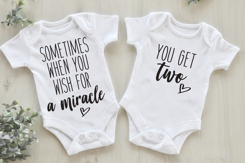 3f121ffd263d4 Twin Pregnancy Announcement / Twin Baby Reveal / Twin   Etsy