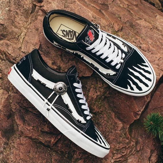 Custom sneakers kicks Black Chief