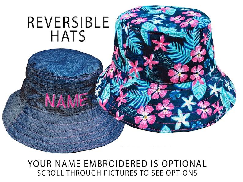 eb54aa8f222 Hawaii Sun Hat Tropical Floral Hat Custom Name Hat Tropical