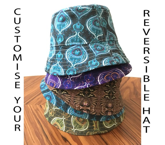 Customized Adult Bucket Hat Personalise Your Hat Handmade  744d10ecdfd
