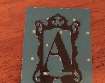 Alphabet magnetic planner/book mark