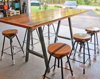 Recycled Skateboard Break/Conference Table