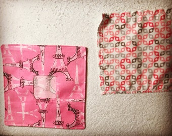 Toy Doll Wipes and Case