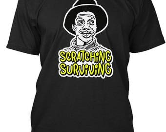 JJ Good Times Scratching and Surviving t-shirt