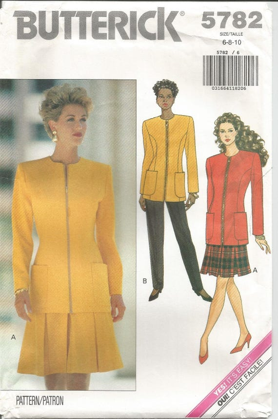 McCall/'s 5782 Misses Skirt Sewing Pattern Sizes 6-8-10  Uncut