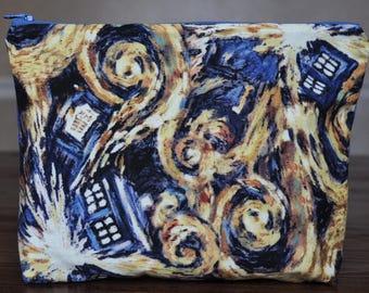 Doctor Who Exploding Tardis/ Tardis bag  - OOAK