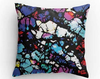 Shattered, Abstract Art Pillow