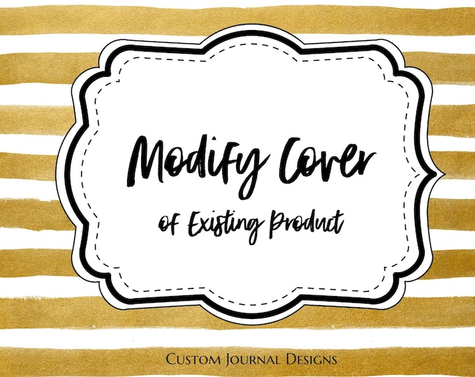 Add-On Option: Modify the Cover of an Existing Product