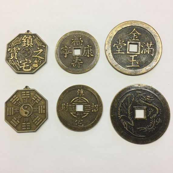 Feng Shui  Coins.  Symbol of Wealth and Prosperity