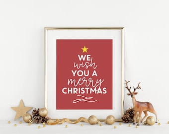 Printable Christmas Etsy