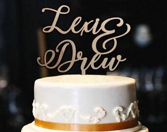 Custom Happy Birthday Cake Topper Name