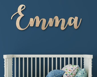nursery name sign etsy
