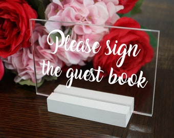 Wedding Signs, Signature Drink Sign, Wedding Guest Book Sign, Wedding Table Numbers, Wedding Decor, Acrylic Wedding Signs, Party Signs