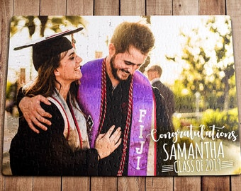 Class Of 2019 Personalized Puzzle 210 Pieces College Graduation Graduation Gift Graduation Day Graduation Party Graduation Gifts