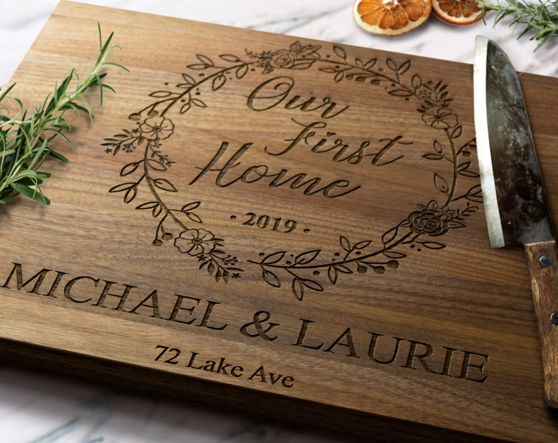 Image result for personalized cutting board