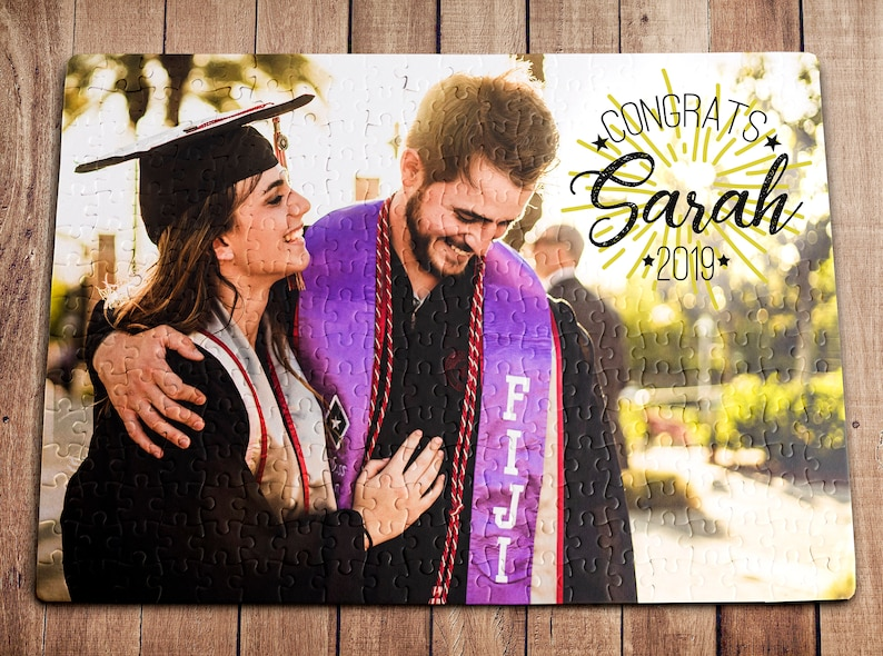 Graduation Gift Graduation Gifts College Graduation Graduation Party Personalized Puzzle 210 Pieces Class Of 2019 Graduation Day