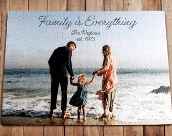 Personalized Puzzle, Wedding Gift, Anniversary Gift, Wedding Anniversary Gift, Custom Puzzle, Jigsaw Puzzle, Picture Puzzle