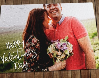 Personalized Puzzle, Valentines Day Gift For Her, Valentines Day Gift For Him, Custom Puzzle, Jigsaw Puzzle, Picture Puzzle
